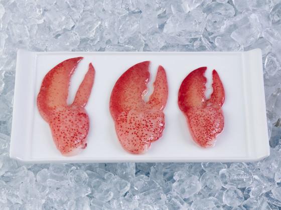 Pinzas de langosta HPP (alimento crudo)